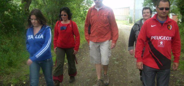 Juin 2009-Randonnée le long du canal