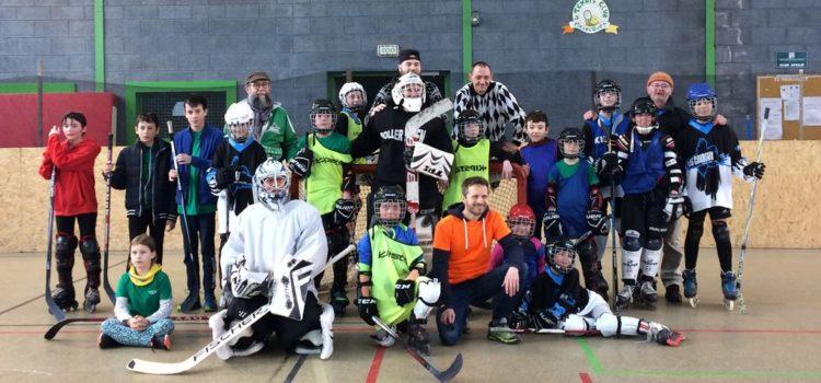 Match de hockey jeunes
